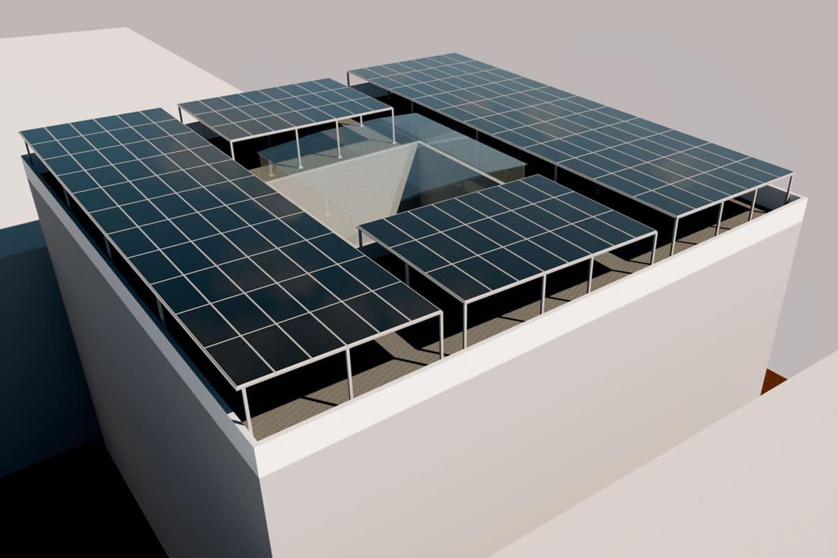 panel-techo-green